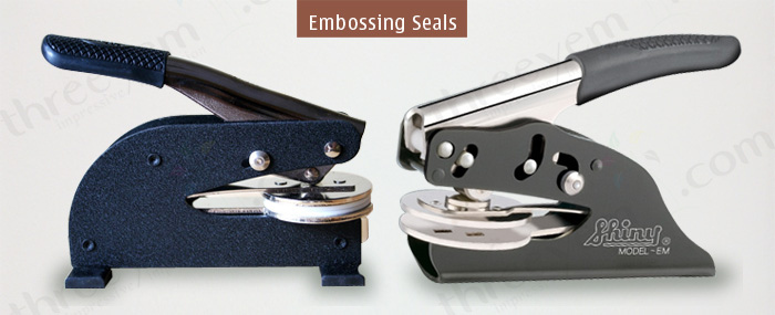 Embossing Seal Machines