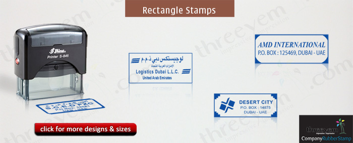 Rectangle Company Stamps Photo