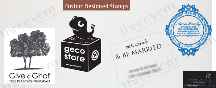 Custom Rubber Stamp Design