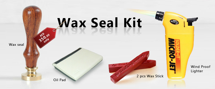 Wax Stamp Kit