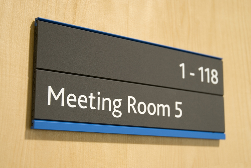 Sliding Door: Sliding Door Signs