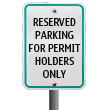 Reserved Parking only for Permit Holders
