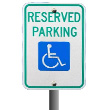 Parking sing for physically challenged